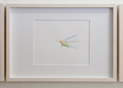 Richard Tuttle / Division # III – 1 RT'14  2014  22 x 31 cm Pencil, colored crayon and watercolor on paper