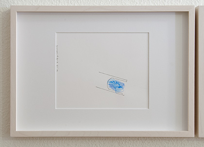Richard Tuttle / Division # III – 7 RT'14  2014  22 x 31 cm Pencil, colored crayon and watercolor on paper