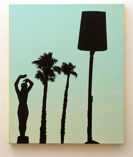Glen Rubsamen / Glen Rubsamen (*1957) Just Getting To Know You...  2009  60 x 50 cm Acrylic on linen