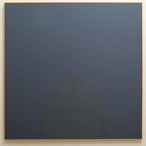 James Bishop / James Bishop (*1927) Maintenant  1981  193 x 193 cm Oil on canvas