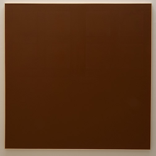 James Bishop / James Bishop Untitled  1974  195 x 195.5 cm oil on canvas