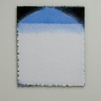 Joseph Egan / Joseph Egan  on Hydra (Nr. 3)  2013  49 x 41 x 1 cm various paints on canvas with wood supports