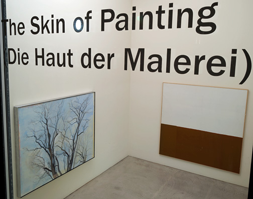 James Bishop,  				Antonio Calderara,  				Joseph Egan,  				Richard Francisco,  				Robert Mangold,  				Sylvia Plimack-Mangold,  				Jerry Zeniuk,  				Sol LeWitt, The Skin of Painting
