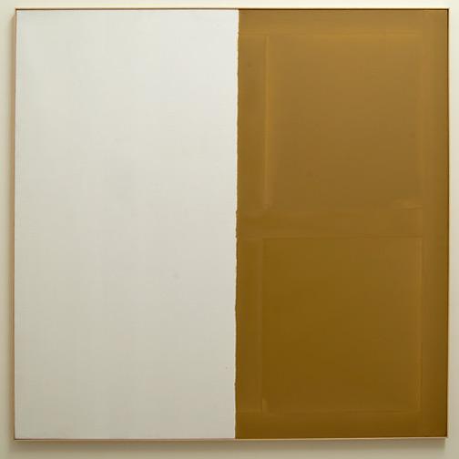 James Bishop / James Bishop Untitled  1974 192.5 x 193 cm oil on canvas