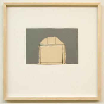 James Bishop / James Bishop Untitled  2009 14.1 x 20.7 cm oil and crayon on paper