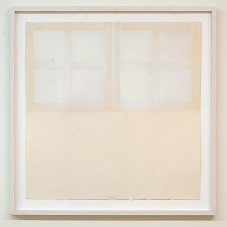 James Bishop / James Bishop Untitled  ca. 1970 55.5 x 55.5 cm oil on paper