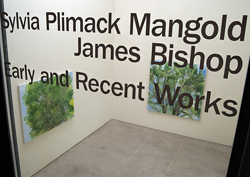 Sylvia Plimack-Mangold,  				James Bishop, Bishop / Plimack Mangold