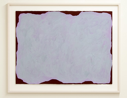 Sol LeWitt / Irregular Form  1999  55.9 x 76.2 cm   gouache on paper