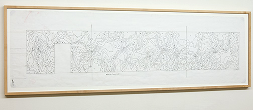 Sol LeWitt / Working Drawing Beyeler  2001  45.8 x 158.5 cm ink and pencil on paper