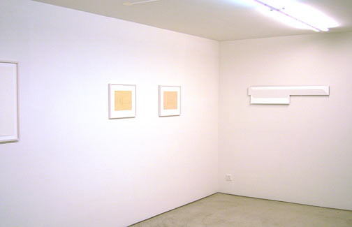 Andreas Christen,  				Joseph Egan,  				Richard Francisco,  				Robert Mangold,  				Sylvia Plimack-Mangold,  				David Rabinowitch,  				Glen Rubsamen,  				Fred Sandback,  				Jerry Zeniuk, Summer exhibition 2006
