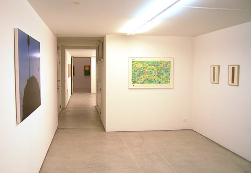 Andreas Christen,  				Joseph Egan,  				Richard Francisco,  				Robert Mangold,  				Sylvia Plimack Mangold,  				David Rabinowitch,  				Glen Rubsamen,  				Fred Sandback,  				Jerry Zeniuk, Summer exhibition 2006