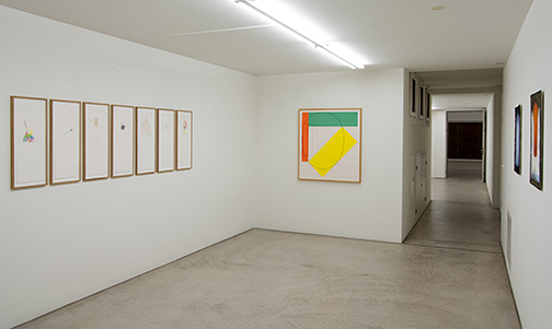 Sol LeWitt,  				Robert Mangold,  				Joseph Egan,  				Richard Tuttle,  				Fred Sandback,  				James Bishop,  				Sylvia Plimack-Mangold, Sommerausstellung