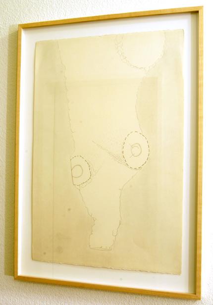Ree Morton / Ree Morton Newfoundland Drawing  1973 56.5 x 38.1 cm pencil on paper