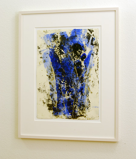David Rabinowitch / David Rabinowitch  Colour Tree Drawing  1996 45 x 32 cm wax medium, pigment, pencil and oilpaint on paper