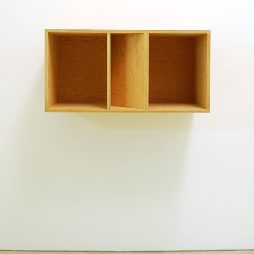 Donald Judd / Donald Judd Untitled 89-50  1989 50 x 100 x 50 cm douglas fir plywood
