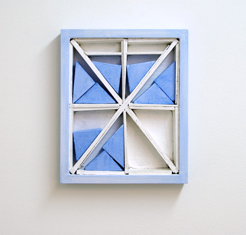 Joseph Egan / Joseph Egan dovecote (partake)  2009 37 x 285 x 4 cm various paints on wood