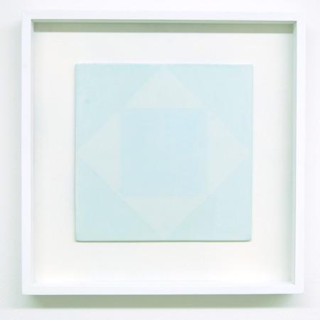 Antonio Calderara / Antonio Calderara  Senza titolo, 2  1978 27 x 27 cm Oel auf Holz