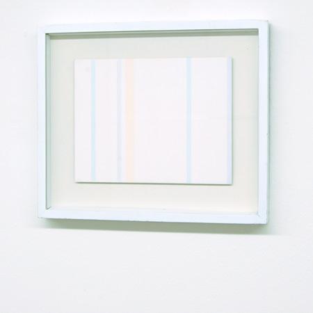 Antonio Calderara / Antonio Calderara  Senza titolo  1974 21 x 27 cm Oel auf Holz