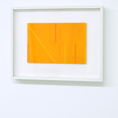 Antonio Calderara / Antonio Calderara  Senza titolo (Lettera di un convalescente)  1975 18 x 21 cm oil on wood