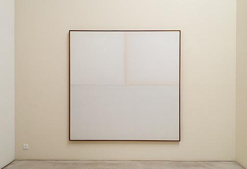 James Bishop / James Bishop Untitled  1967 195.6 x 195.6 cm oil on canvas