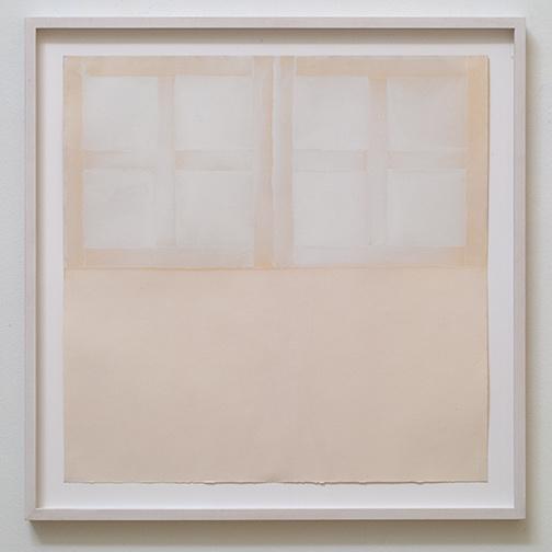 James Bishop / James Bishop Untitled  1973 55.5 cm x 55.5 cm oil on paper