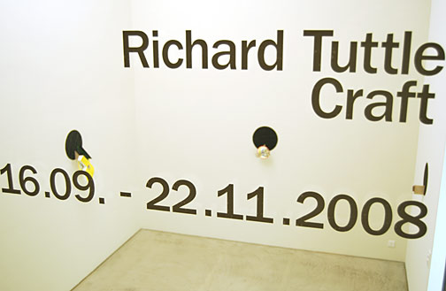 Richard Tuttle / Craft