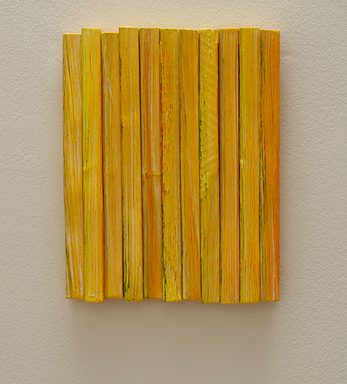 Joseph Egan / Joseph Egan Colors  2018  36.5 x 29 x 4.5 cm various paints on wood