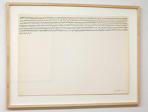 Giorgio Griffa / Giorgio Griffa Senza Titolo  n.d. 51 x 72 cm ink on paper