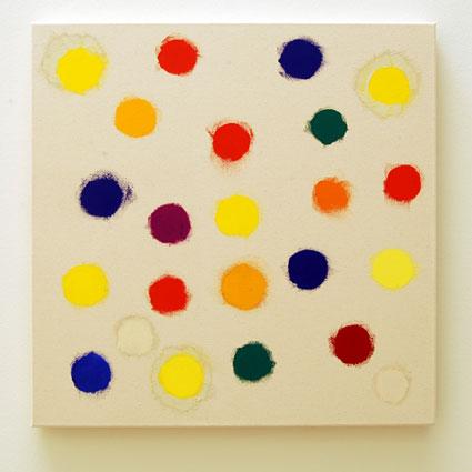 Jerry Zeniuk / Untitled  2009  70 x 70 cm Oil on canvas