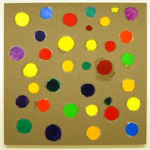 Jerry Zeniuk / Untitled (Nr. 304)  2009  160 x 160 cm Oil on canvas