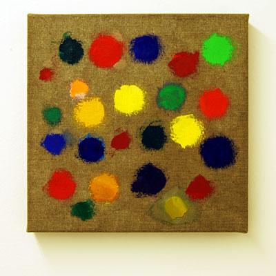 Jerry Zeniuk / Untitled  2009  40 x 40 cm Oil on canvas