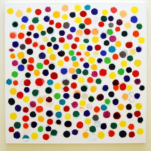 Jerry Zeniuk / Untitled (Nr. 301)  2008  160 x 160 cm Oil on canvas