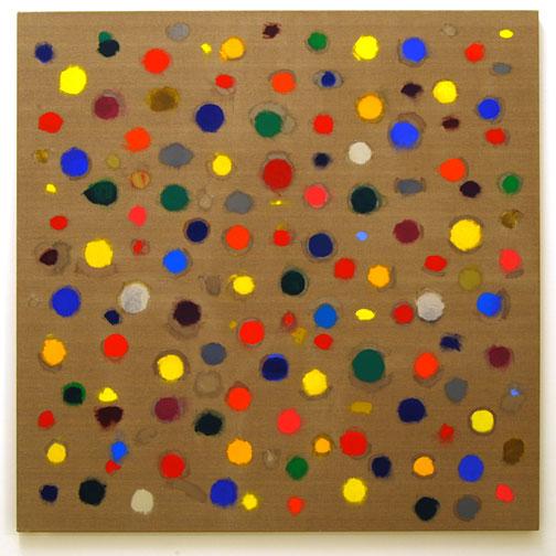 Jerry Zeniuk / Untitled (Nr. 300)  2007  180 x 180 cm Oil on canvas