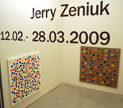 Jerry Zeniuk / New paintings